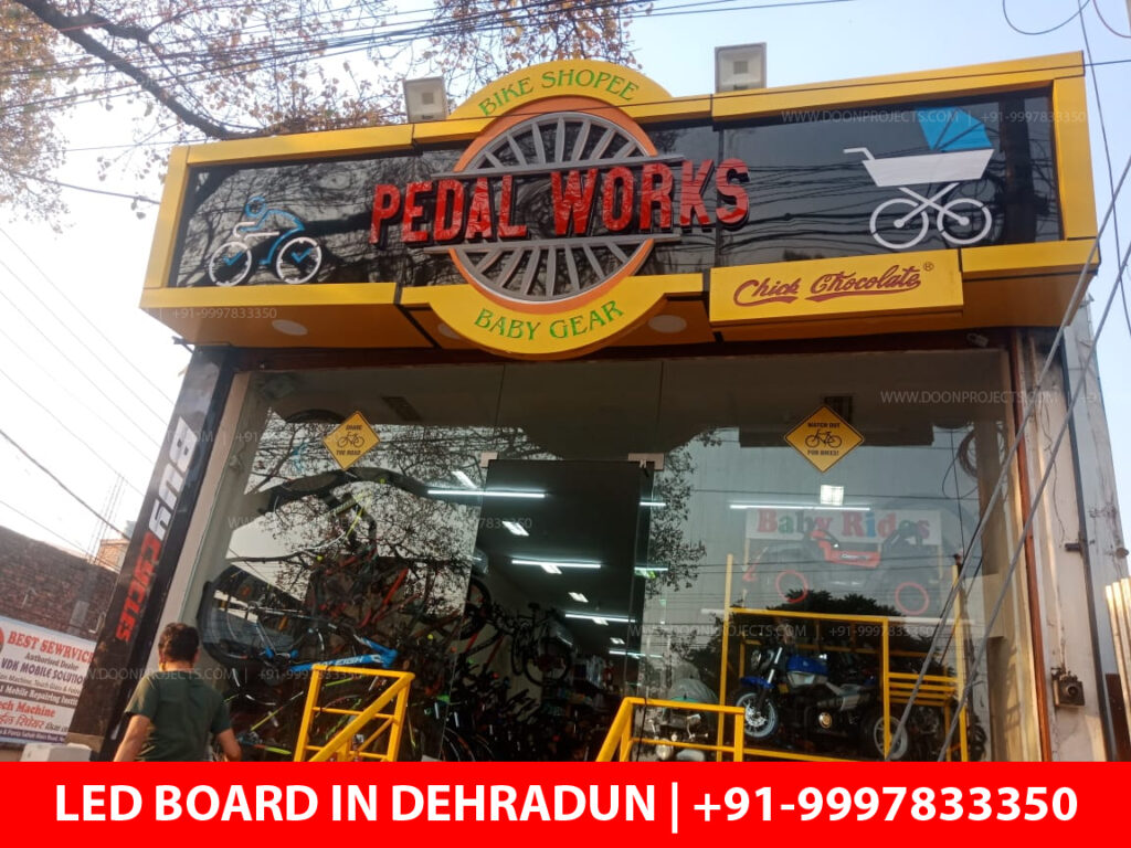 LED Sign Board Designed for Padel Works in Dehradun