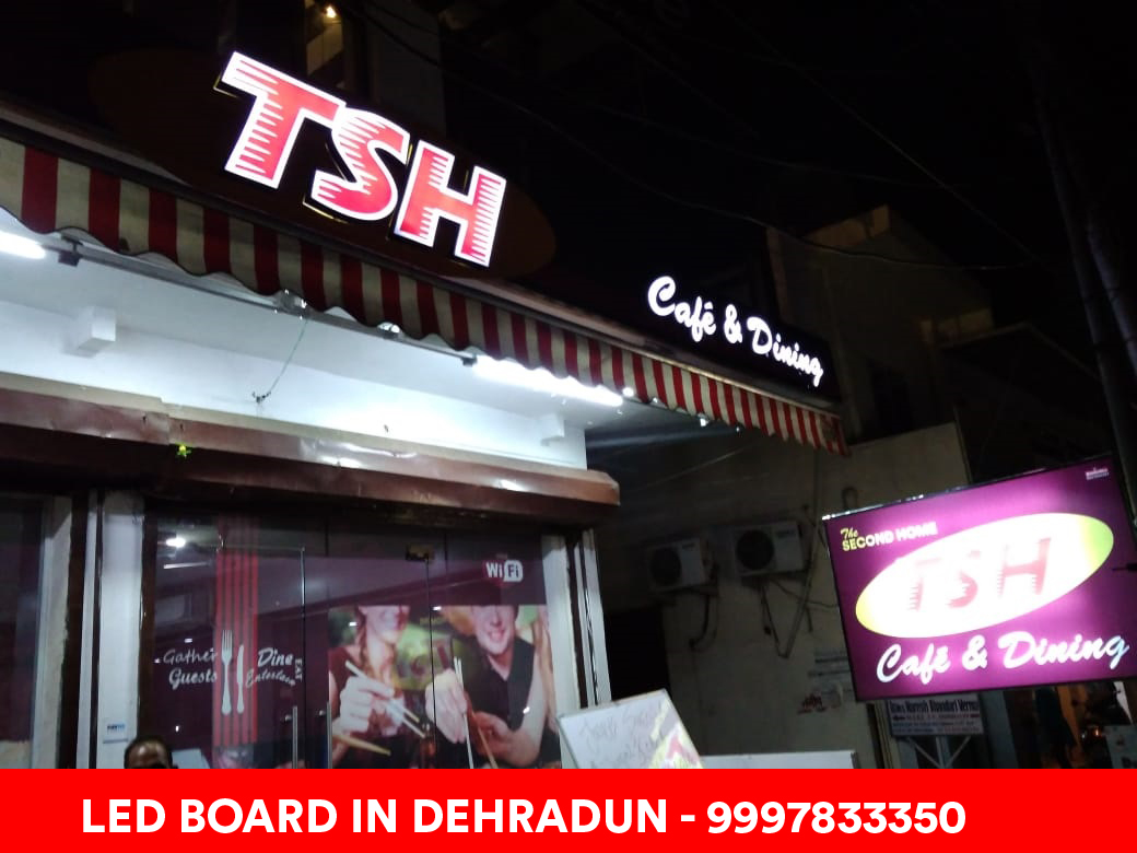 Restaurant LED Board Dehradun