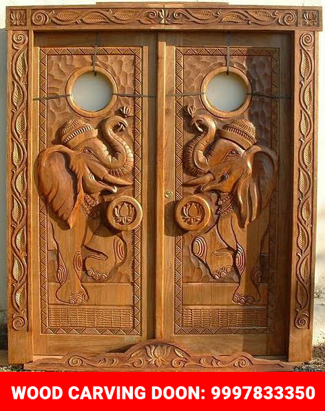 Wood Engraving on Doors and Furniture