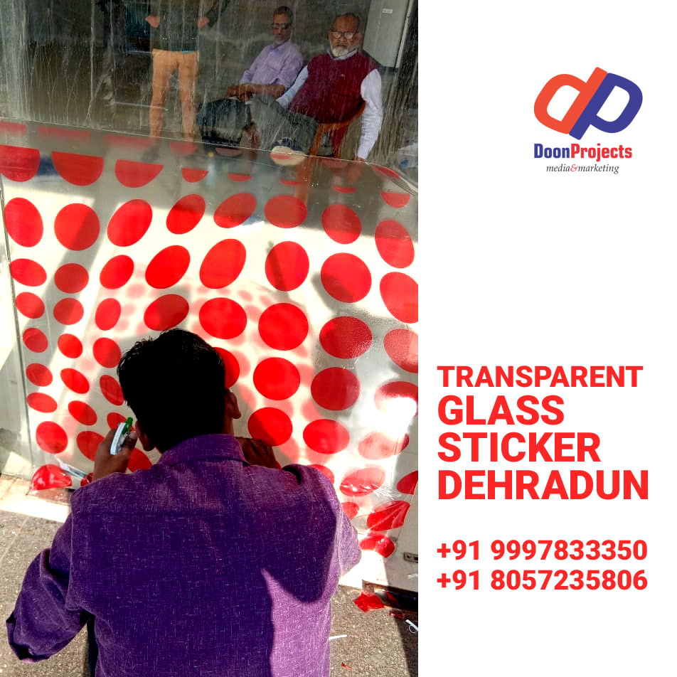 Glass Sticker Printing Dehradun