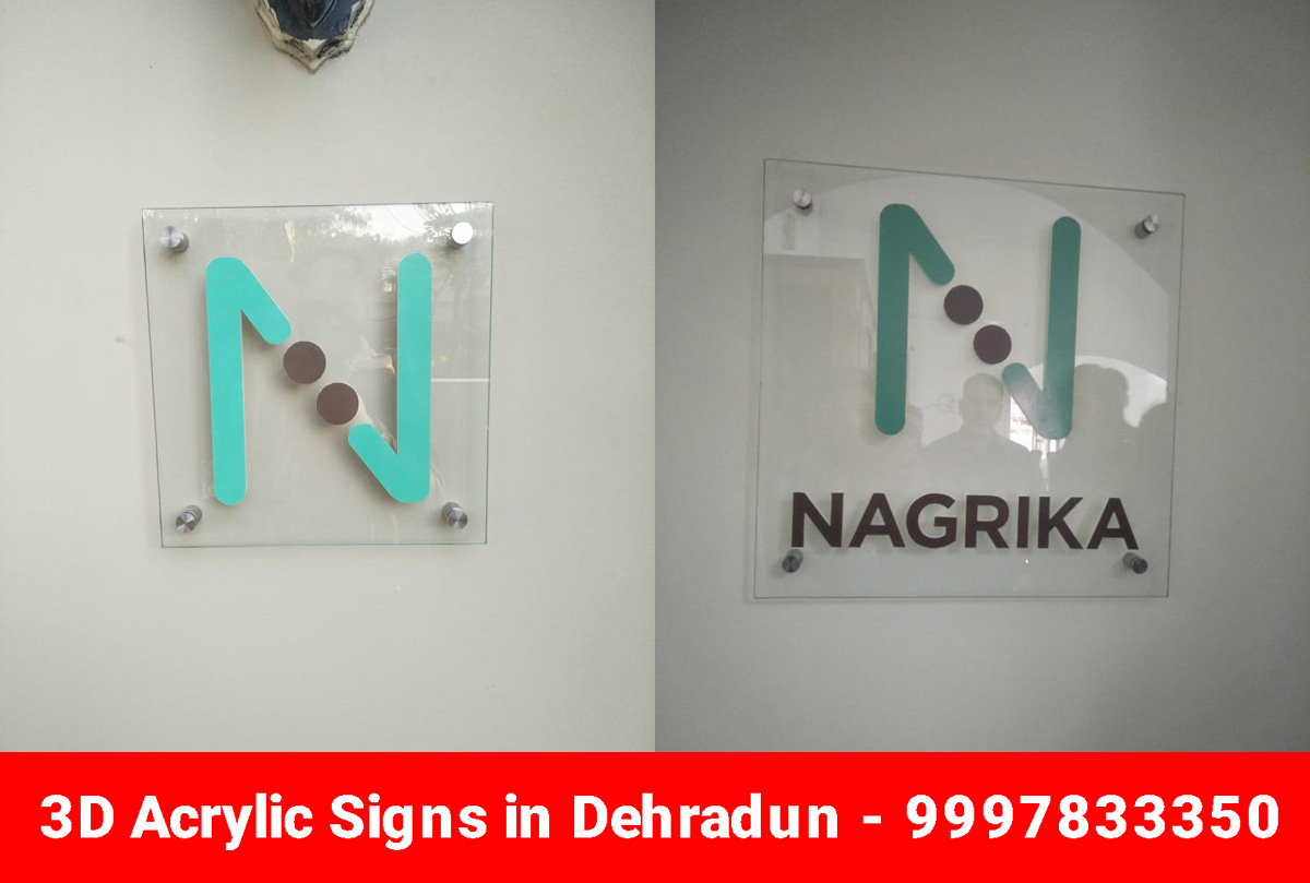 3D Acrylic Sign in Dehradun