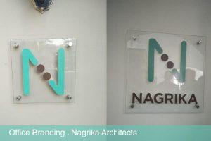 Acrylic Logo on Wall