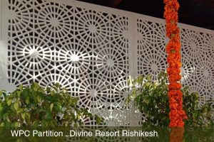 WPC Partition for Divine Resort