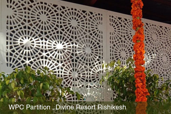 WPC Partition for Divine Resort