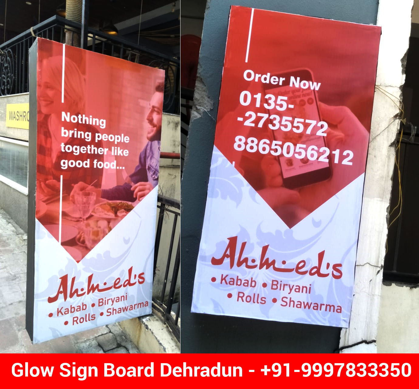 LED Glow Sign Board For Dehradun Based Restaurant