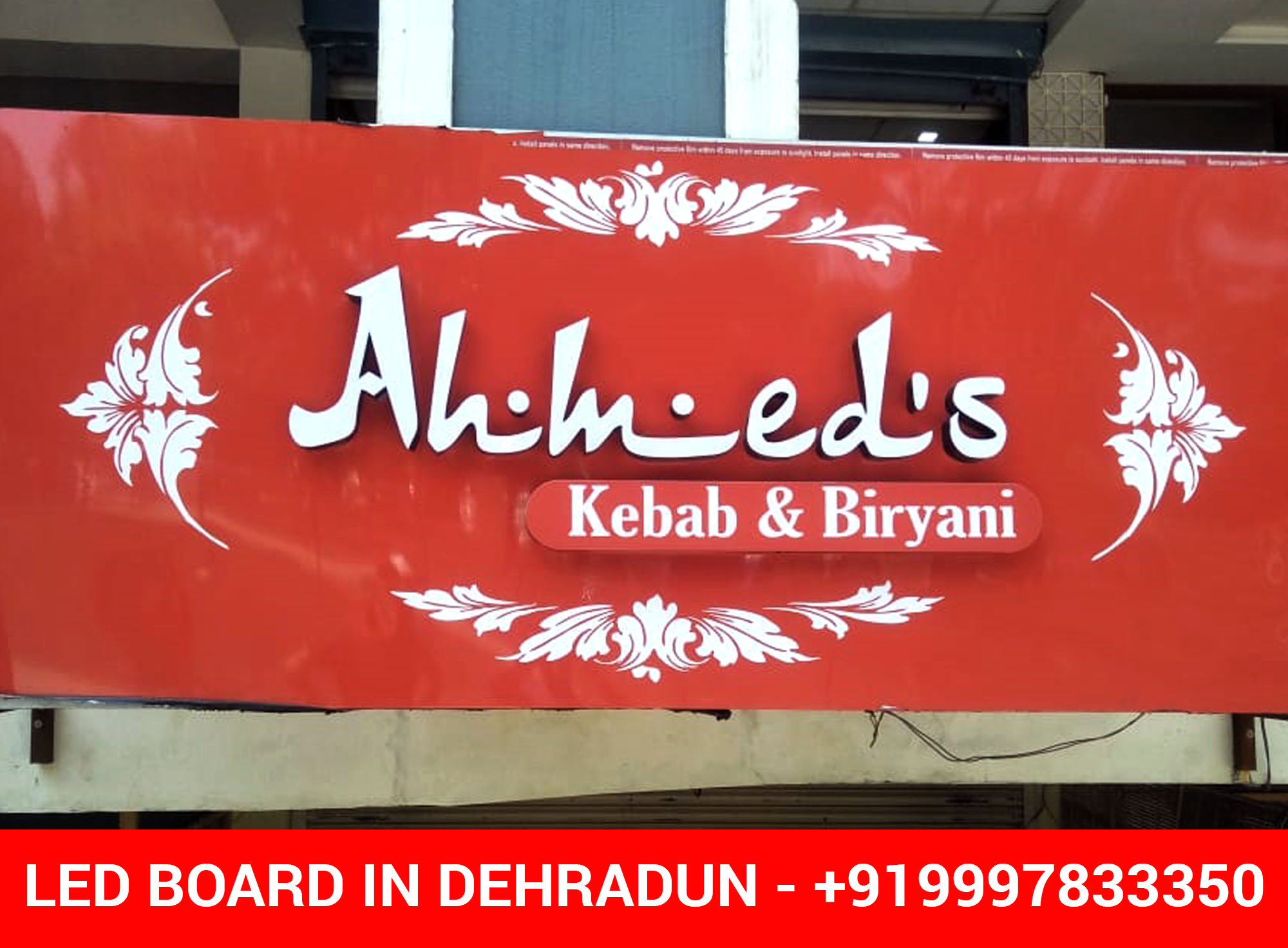 LED Board for Restaurant in Dehradun - Pacific Hills, Rajpur Road