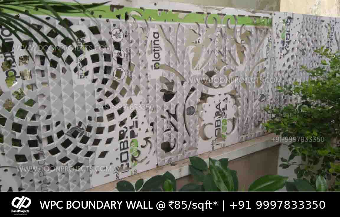 Cobra Sheets used for Boundary Wall Partition
