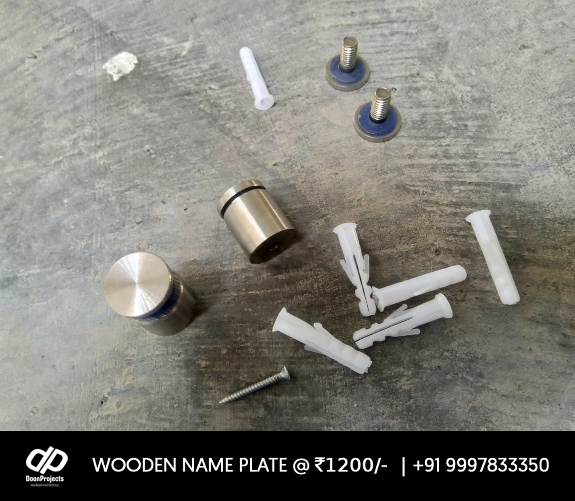 Name Plate Fixing Accessories