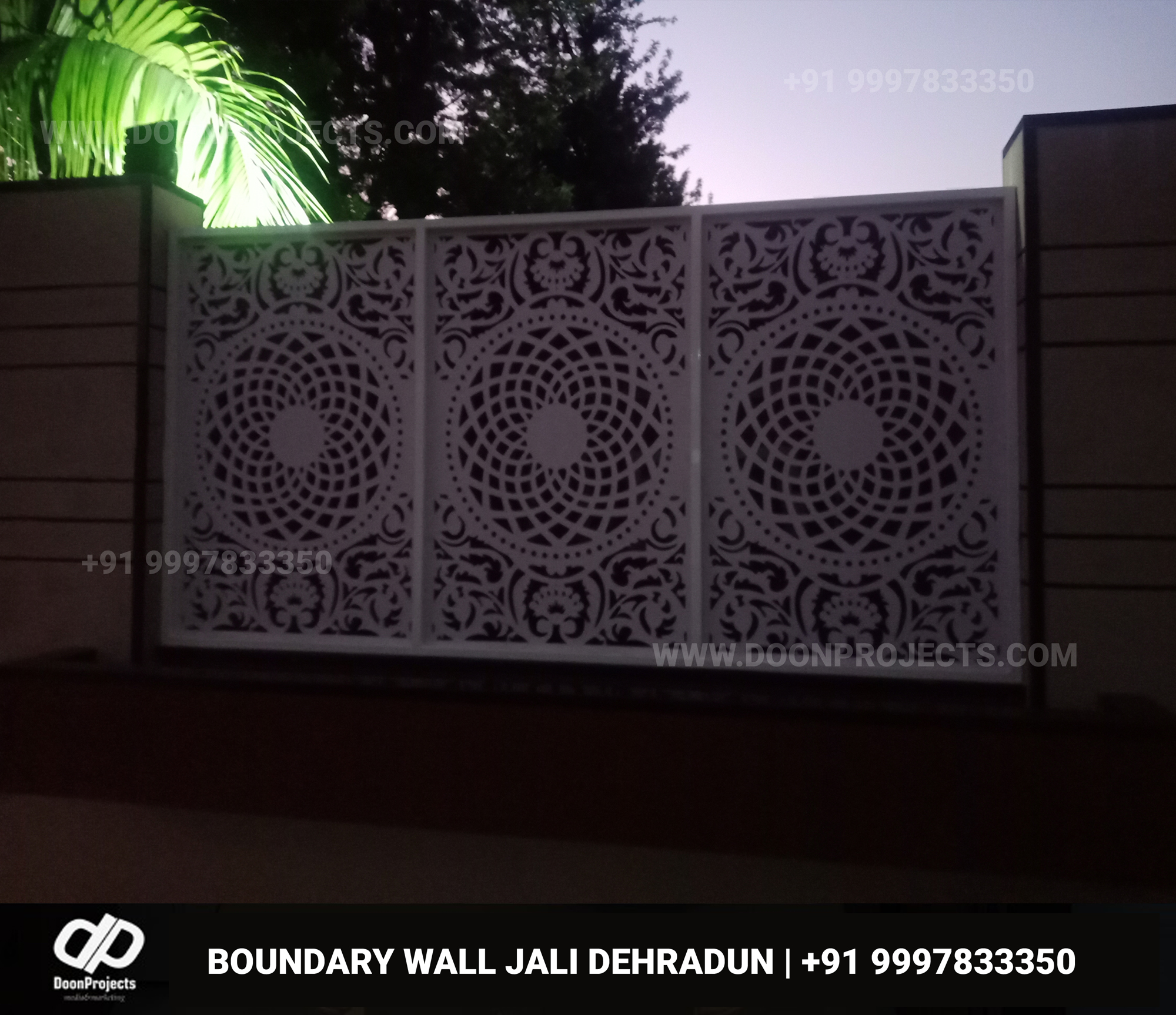 Boundary WAll Jali Design 2