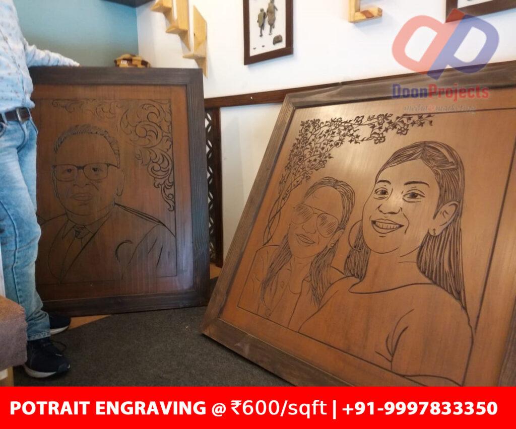 Portrait Engraving