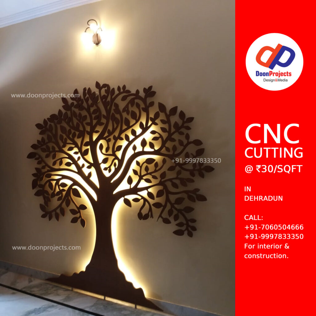 Lighted Wall Mounted Tree Art for Home Decoration in Dehradun