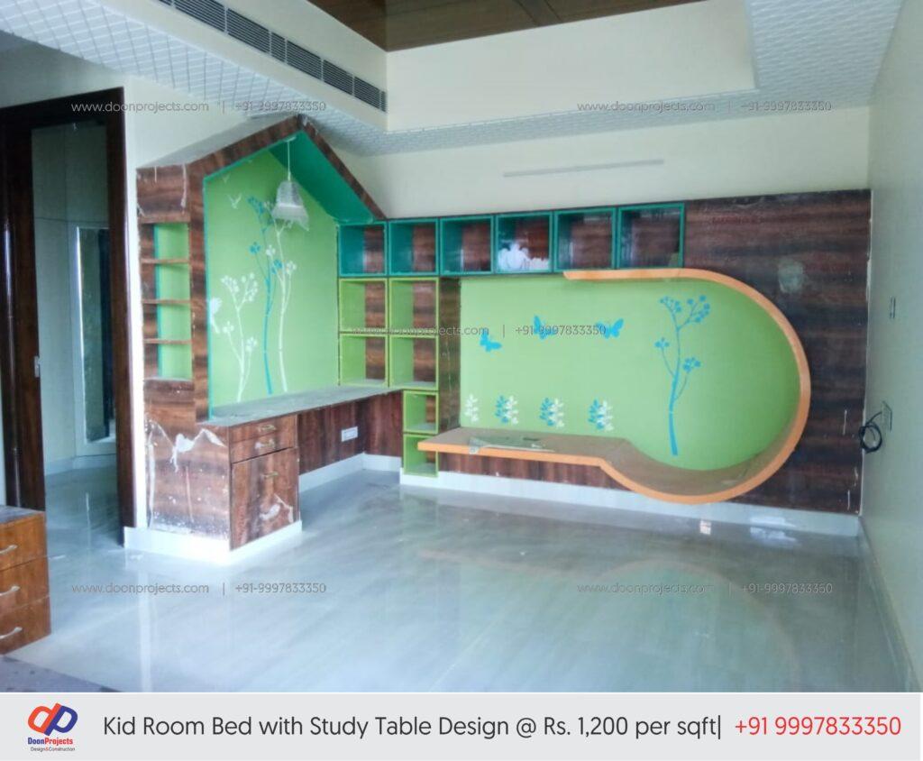 Kids Room Wooden Furniture Design