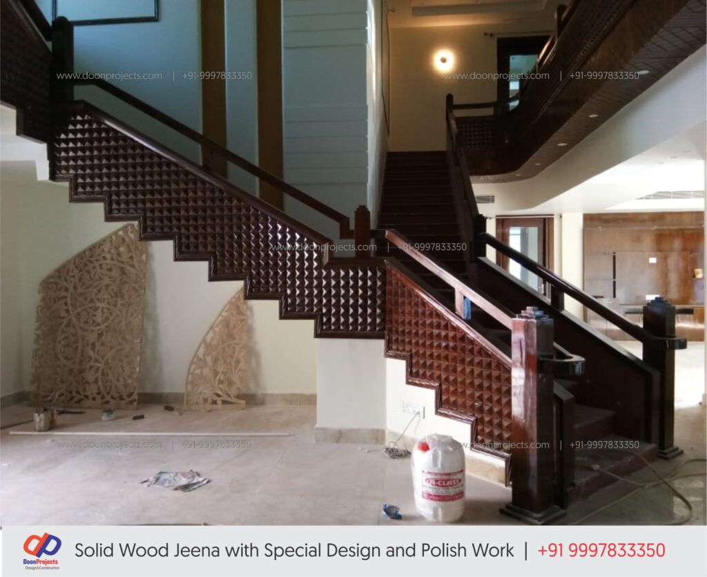 Solid Wood Stair Design