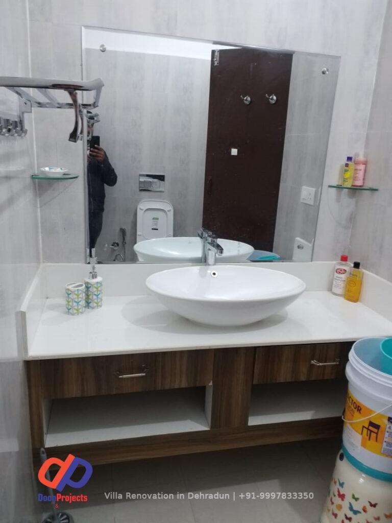 Master Bathroom on 1st Floor on Sahastradhara Road Dehradun
